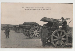 ARTILLERIE Boche Capturés Par Les Américains  - Guerre 14-18 - 1914-18