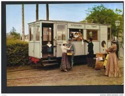 45 PITHIVIERS Musée Des Transports Une Journée à Labelle époque (cpsm Couleur Animée) - Pithiviers
