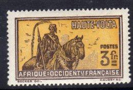 Haute Volta  N ° 62 (.)  , 3 F. Sépia Et Ocre, Neuf Sans Gomme, Sinon TB - Obervolta (1920-1932)