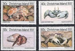 Christmas Islands 1985 Yvertn° 198-201 *** MNH  Cote 8 Euro  Faune - Christmas Island