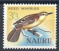 Nauru 1963 1965 Yvertn° 53 *** MNH  Cote 8 Euro Faune Oiseaux Vogels Birds - Nauru