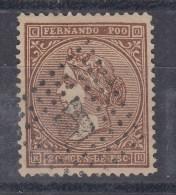 0026 SJ FERNANDO POO Nº 1 USADO - Fernando Po