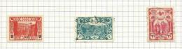 Turquie N°569 à 571 Cote 3.75 Euros - Used Stamps