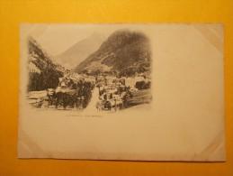 Carte Postale - CAUTERETS (65) - Vue Générale - Pionnière Voyage En 1900 (1080/1000) - Cauterets