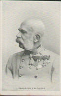 Kaiser Franz Joseph I., Portrait In Uniform, Postkarte, Adel, Habsburg, Österreich, Königshäuser - Königshäuser