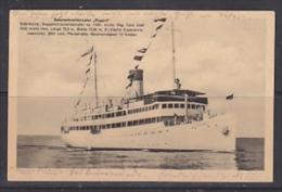 Germany 1927 Salonschnelldampfer Rugard  Postcard Ca 14 Aug 1927 Sassnitz (26629) - Pommern