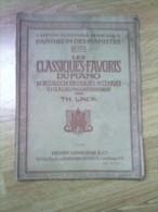 Livre : Classiques  Piano , TH . LACK , Paris  Bruxelles  , Panthéon Des  Pianistes Numéro 1014 ,henry Lemoine - Livres, BD, Revues