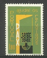 Portugal - 1960 World Refugee Year 1.80e MNH  **  Sc 850 - Nuevos