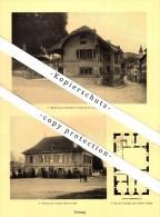 Photographien / Ansichten , 1928 , Fribourg / Freiburg , Prospekt , Architektur , Fotos !!! - FR Fribourg