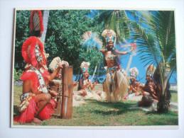 DANSEUSE-ETOILE Du Groupe Tahiti-nui PHOTOGRAPHE N°469 ADOLPHE SYLVAIN EDITION ANNEE 1980 ENVIRON - Tahiti