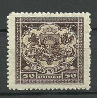 LETTLAND Latvia 1922 Michel 87 MNH - Lettonie