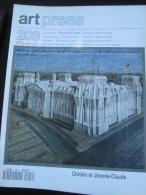 ART PRESS N° 203 : Christo & Jeanne Claude / Biennale De Venise. 1995