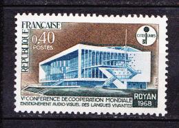 N° 1554 5ème Conférence De La Coopération Mondiale Pour L´enseignement Audiovisuel  : Timbre Neuf Sans Charnière - Unused Stamps