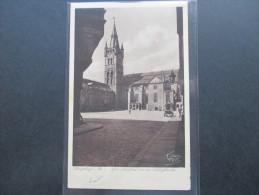 AK / Echtfoto 1934 Königsberg In Preußen. Der Schloßhof Mit Der Schloßkirche. Fritz Krauskopf. - Ostpreussen