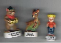 Lot 3 Fèves  DISNEY - Disney