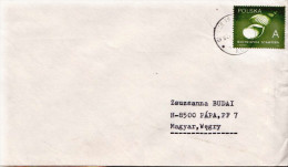Postal History Cover: Poland Shell Stamp On Cover - Conchiglie