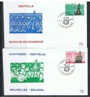 Belgie OCB FDC 2315 / 2317 - 1981-90