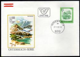 ÖSTERREICH 1982 - Schönes Österreich / Weißsee In Salzburg -  FDC - Sonstige