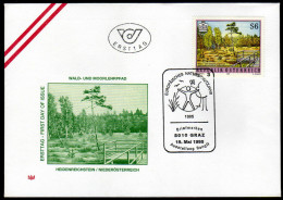 ÖSTERREICH 1995 - Naturschönheiten / Heidenreichstein In Niederösterreich - Sonderstempel FDC - Sonstige
