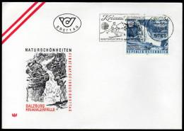 ÖSTERREICH 1980 - Naturschönheiten / Krimmler Wasserfälle, Nationalpark Hohe Tauern - Sonderstempel FDC - Sonstige