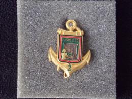 """Insignes Militaire """"R.S.M.A.M. Régiment Service Adapté Martinique -  """"ENGINEER REGIMENT """" - RARE - Armée De Terre"""