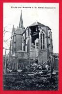 55. Woinville( Buxières-sous-les- Côtes). Ruines De L'église St. Pierre. Feldpoststation Nr 91.  Août 1915 - Sonstige Gemeinden