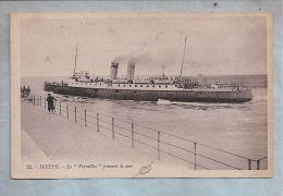 """CPA - Bateau - Dieppe (76) - 12. Le """"Versailles"""" Prenant La Mer - Dampfer"""