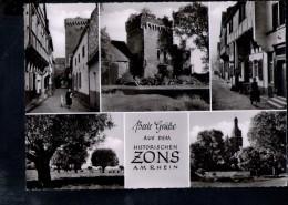 N1692 BESTE GRUSSE AUS DEM HISTORISCHEN ZONS AM RHEIN - Nordrhein-Westfalen , HANS JAKOB DERENDORF FOTO ANDENKEN - Germania