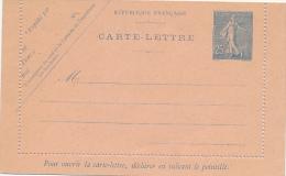 Frankreich - Carte Lettre  Wie K34 Aber Ohne Druckdatum ? ! - Ganzsachen