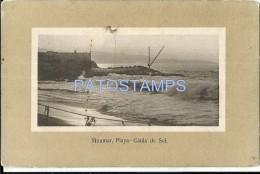 25225 CHILE MIRAMAR BEACH PLAYA CAIDA DEL SOL SPOTTED POSTAL POSTCARD - Chile
