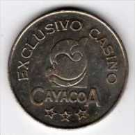Jeton De Slot Machine : Exclusivo Casino Cayacoa : República Dominicana - Casino
