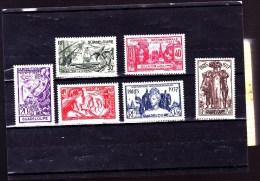 GUADELOUPE : Exposition De Paris : Y&T : 133* à 138* - Guadeloupe (1884-1947)
