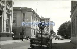 25234 CHILE TEMUCO CAUTIN VISTA DE LA CALLE STREET & AUTOMOVIL CAR TRUCK POSTAL POSTCARD - Chile