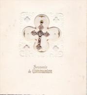 SOUVENIR DE COMMUNION EGLISE D'AUMONT 17 MAI 1959 (DIL23) - Communion