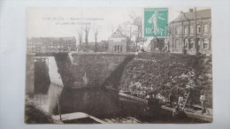 Rare DON Le Pont De L´écluse SCAPHANDRIER - Francia