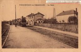 VENDENESSE Les CHAROLLES   -  La Gare  - - France