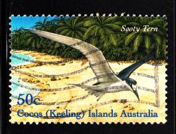 Cocos Islands Used Scott #337b 50c Sooty Tern - Cocos (Keeling) Islands