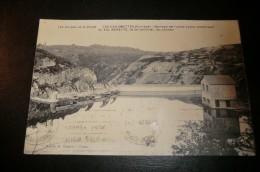 CPA 19 LES CHAUMETTES. Barrage Du Val Beneyte, Le Lac, Les Vannes. 04/08/1928.