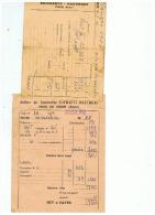 ATELIERS DE CONSTRUCTION    SCHWARTZ   HAUMONT (NORD) USINE DE PINON (AISNE) 1950 1952 - Non Classés