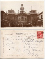 1919 UK Great Britain Postcard London Whitehall Posted To Belgium - Storia Postale