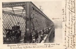 VARSOVIE   - Pont Traversant La Vistule - Pologne