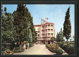 Cartolina Abano Terme, Blick Auf Die Hotel Terme Italia - Italia
