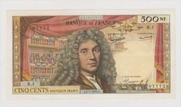 500 F - MOLIERE - 1959  > R.1 - 1959-1966 ''Nouveaux Francs''