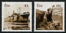 IRLANDE 2015 - World War I - Gallipoli - 2v Neuf // Mnh - Nuovi