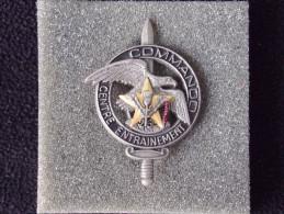 """Insignes Militaire """"Centre D'Entrainement Commando - 26 Régiment D4infanterie - PACIFIQUE """"ENGINEER REGIMENT """" - Armée De Terre"""