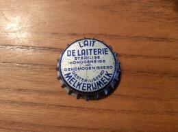 """Ancienne Capsule De Lait """"LAIT DE LAITERIE STERELISE HOMOGENEISE - MELKERIJMELK"""" Belgique (intérieur Liège) - Other"""