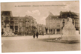 Blankenberghe, Blankenberge, Monument Des Combattants Et Monument Conscience (pk27434) - Blankenberge