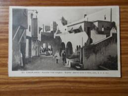 CASABLANCA   Nouvelle Ville Indigène  Quartier Réservé  Années 20 - Casablanca