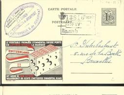Publibel Obl. N° 1229 ( Fromages Suisse; Emmental)obl: - Stamped Stationery