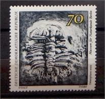 DDR 1827 ** Museum Für Naturkunde Berlin - Trilobit - [6] République Démocratique